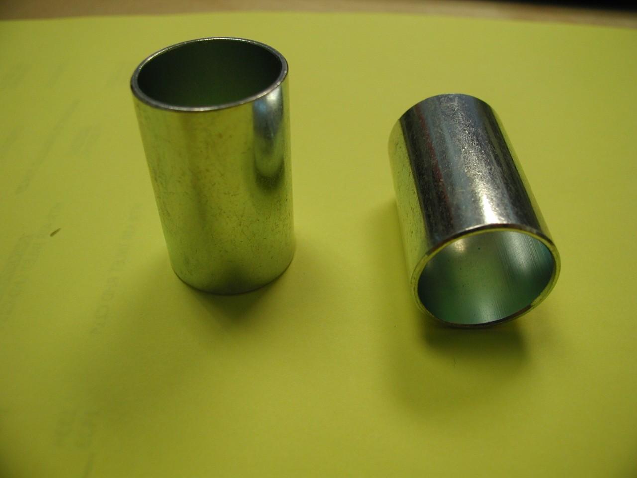 inserti in ottone e acciaio